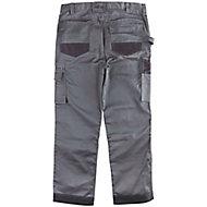 "Site Jackal Grey/Black Men's Trousers, W30"" L30"""