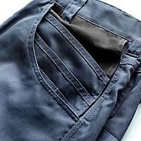 "Site Jackal Grey/Black Men's Trousers, W32"" L34"""