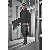 "Site Jackal Grey/Black Men's Trousers, W36"" L34"""