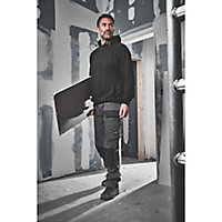 "Site Jackal Grey/Black Men's Trousers, W40"" L32"""