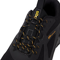 Site Jarosite Black Safety trainers, Size 7