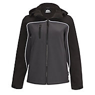 Site Kardal Black/Grey Water-resistant Women's Softshell jacket Small 8-10