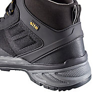 Site Magma Men's Black Safety boots, Size 8