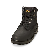 Site Marble Men's Black Safety boots, Size 8