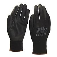 Site Nylon General handling gloves, Large