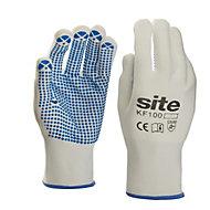 Site Nylon & polyester General handling gloves, Large