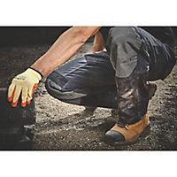 "Site Ridgeback Black & Grey Men's Multi-pocket trousers, W30"" L32"""