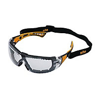 Site SEY232 Clear Lens Safety specs