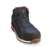 Site Strata Navy Safety trainer boots, Size 9