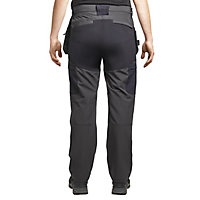 "Site Tesem Black Men's Multi-pocket trousers, W36"" L32"""