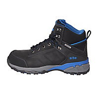 Site Thorite Unisex Black & blue Safety boots, Size 9