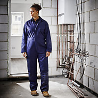 Site Women's Navy Blue Ladies coverall 12-14