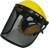Site Yellow Acrylonitrile butadiene styrene (ABS) Face shield & ear defender