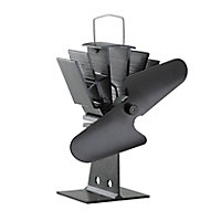 Slemcka Black Stove Fan