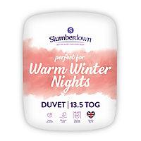 Slumberdown 13.5 tog Warm winter nights Single Duvet