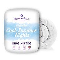 Slumberdown 4.5 tog Summer Cool King Duvet
