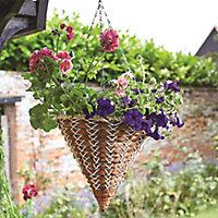 Smart Garden Country braid Hanging basket, 35cm