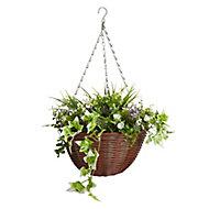 Smart Garden Easy artificial Plastic Hanging basket, 30cm