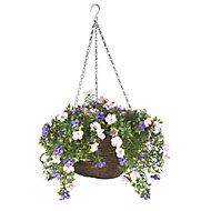 Smart Garden Pertunia artificial Plastic Hanging basket, 30cm