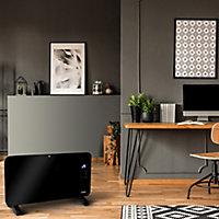 Smartwares Electric 2000W Black Panel heater