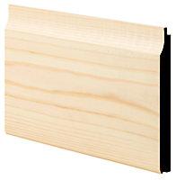 Smooth Medium-density fibreboard (MDF) Cladding (W)119mm (T)14.5mm