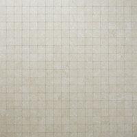 Soft lime stone Warm cream Stone effect Porcelain Mosaic tile, (L)300mm (W)300mm