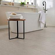 Soft travertin Ivory Matt Stone effect Porcelain Floor Tile Sample