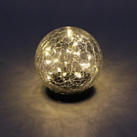 Solar Matt Black Solar-powered LED Outdoor Table lamp