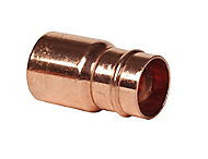 Solder ring Fitting Reducer (Dia)22mm x 15mm, Pack of 2