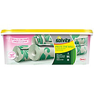 Solvite Paste the wall Ready mixed Wallpaper Adhesive 2.5kg