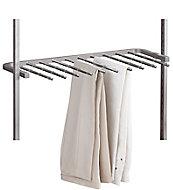 Spacepro Aura Metallic effect Storage rack (W)900mm (D)500mm