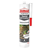 Special materials White Natural stone Building Sealant, 300ml