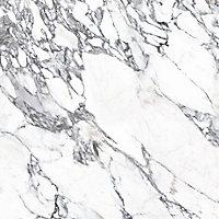 Splashwall Elite Matt Grey & white Left or right-handed Rectangular Bath panel (W)1200mm