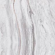 Splashwall Elite Matt Marmo linea 2 sided Shower Wall panel kit (L)2420mm (W)1200mm (T)11mm