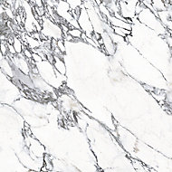 Splashwall Elite Matt Marmo migliore 1 sided Shower Wall panel kit (L)2420mm (W)1200mm (T)11mm