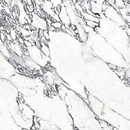 Splashwall Elite Matt Marmo migliore 3 sided Shower Wall panel kit (L)2420mm (W)1200mm (T)11mm