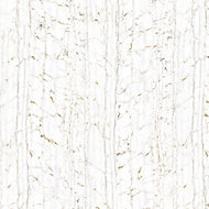 Splashwall Elite Matt Nero port bianco 2 sided Shower Wall panel kit (L)2420mm (W)1200mm (T)11mm