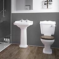 Splashwall Gloss Grey Tile effect Panel (H)2420mm (T)3mm