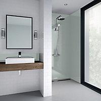 Splashwall Gloss Mist Shower Panel (H)2440mm (W)900mm (T)4mm