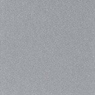 Splashwall Gloss Silver Shower Panel (H)2440mm (W)1200mm (T)4mm