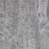 Splashwall Grey stone 2 sided Shower Panel kit (L)2420mm (W)1200mm (T)11mm