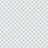 Splashwall Matt Black & white Graphic MDF Splashback, (H)600mm (W)2440mm (T)10mm