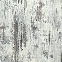 Splashwall Matt Shabby wood Panel (H)2420mm (W)600mm (T)11mm