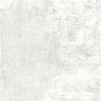 Splashwall Matt White concrete Shower Panel (H)2420mm (W)1200mm (T)11mm