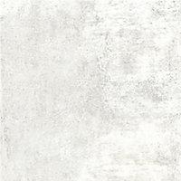 Splashwall Matt White concrete Shower Panel (H)2420mm (W)600mm (T)11mm