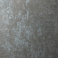 Splashwall Splashwall Matt Chrome effect 2 sided Shower Panel kit (W)1200mm (T)11mm