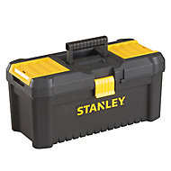 """Stanley 16"""" Plastic 3 compartment Toolbox"""