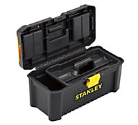 "Stanley 16"" Plastic 3 compartment Toolbox"