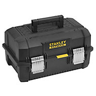 """Stanley 18"""" Structural foam plastic Cantilever toolbox"""