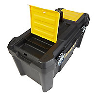 "Stanley 19"" Metal & plastic 3 compartment Toolbox"